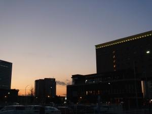 横浜みなとみらい夜景 散歩