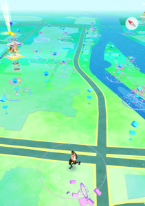 横浜みなとみらいポケモンGOマップ