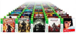xbox oneならxbox360のゲームソフトが動作します