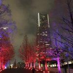 【横浜みなとみらい】夜景撮影におすすめチームラボ イルミネーション