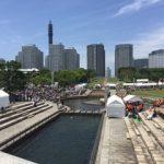 【速報】横浜開港祭・本日花火大会開催!臨港パークの今をレポート